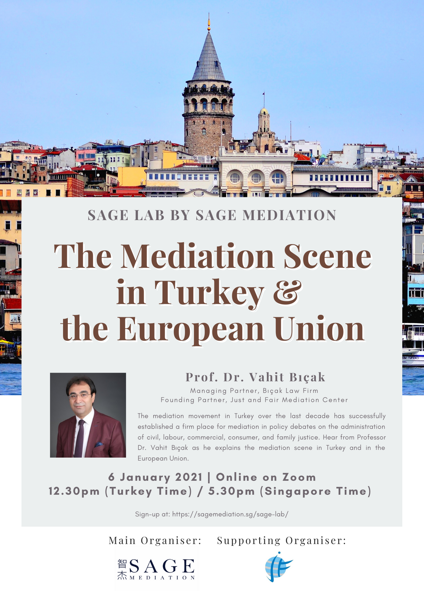 Mediation Scene in Turkey